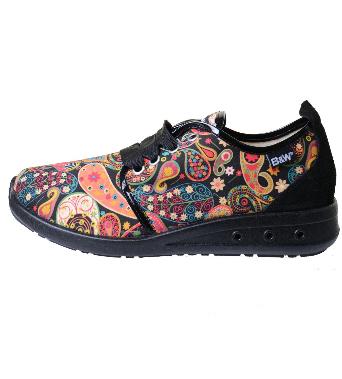 Walk Sneakers Paisley With Pattern Breakamp; Hippie BdexrCo