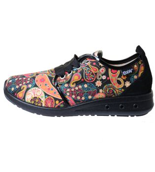 Break & Walk Hippie Sneakers with Paisley Pattern – Bild 2