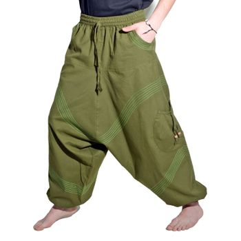 Kunst und Magie Men Goa harem pants in classic colors – Bild 14
