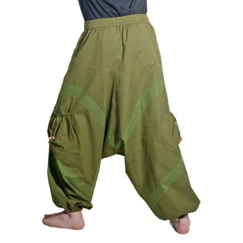 Kunst und Magie Men Goa harem pants in classic colors – Bild 15