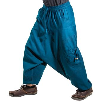 Kunst und Magie Men Goa harem pants in classic colors – Bild 12