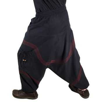 Kunst und Magie Men Goa harem pants in classic colors – Bild 8