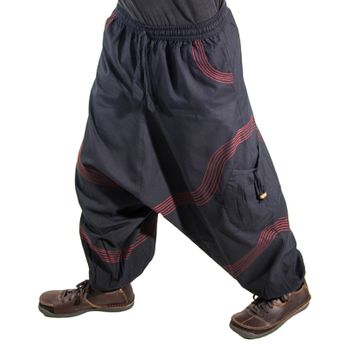Kunst und Magie Men Goa harem pants in classic colors – Bild 7