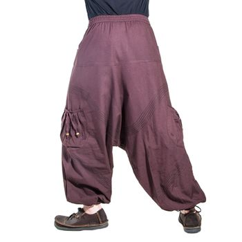 Kunst und Magie Men Goa harem pants in classic colors – Bild 16