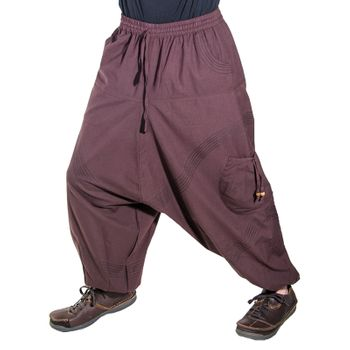Kunst und Magie Men Goa harem pants in classic colors – Bild 13