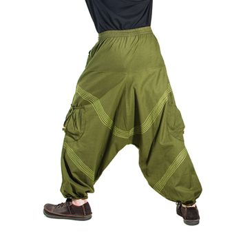 Kunst und Magie Men Goa harem pants in classic colors – Bild 24