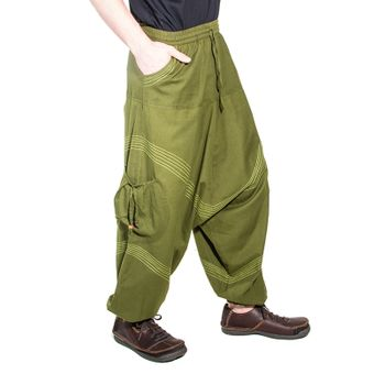 Kunst und Magie Men Goa harem pants in classic colors – Bild 19