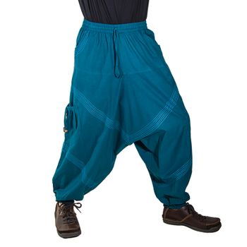 Kunst und Magie Men Goa harem pants in classic colors – Bild 25