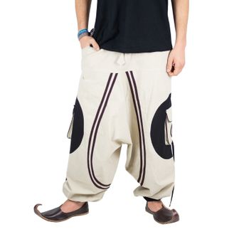 Hippie-Harem Pants Goa with Sprial Patches - Men – Bild 13
