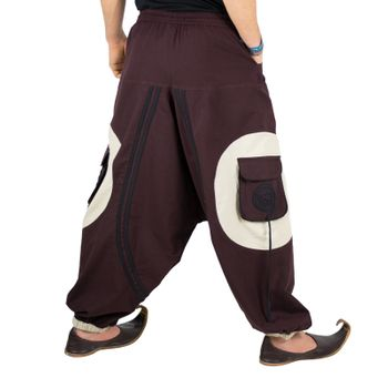 Hippie-Harem Pants Goa with Sprial Patches - Men – Bild 23