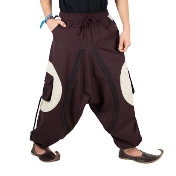 Hippie-Harem Pants Goa with Sprial Patches - Men – Bild 20