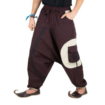 Hippie-Harem Pants Goa with Sprial Patches - Men – Bild 21