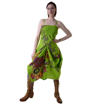 Colorful Goa Summer Dress with Stylish Flower Pattern – Bild 4