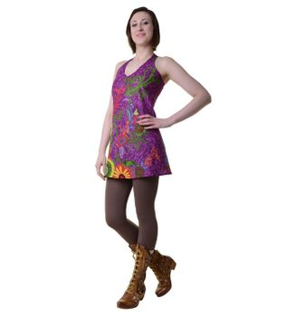 Hippie-Tunic with a Unique Pattern - Summer Dress Longshirt Mini Beach Dress – Bild 6