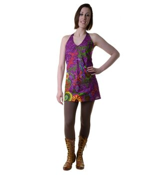 Hippie-Tunic with a Unique Pattern - Summer Dress Longshirt Mini Beach Dress – Bild 7