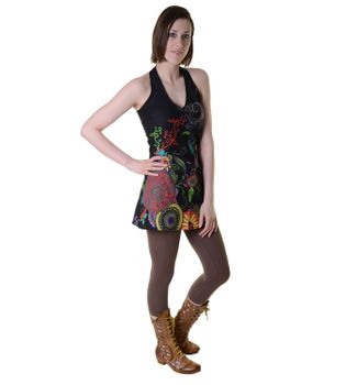 Hippie-Tunic with a Unique Pattern - Summer Dress Longshirt Mini Beach Dress – Bild 14
