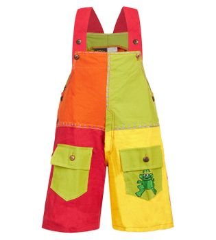 Colorful Kid's Patchwork Overall
