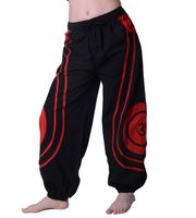 OM Unisex Psy Baggy Pants Hippie Pants Goa Cotton Dance Pants