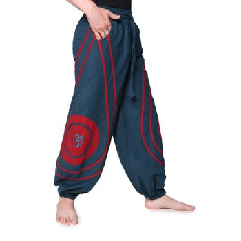 OM Unisex Psy Baggy Pants Hippie Hose Goa Cotton Dance Pants – Bild 18