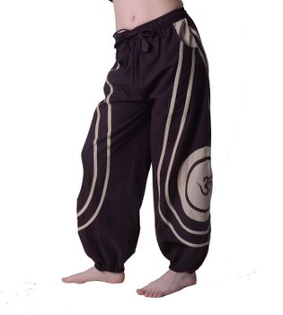 OM Unisex Psy Baggy Pants Hippie Hose Goa Cotton Dance Pants – Bild 14