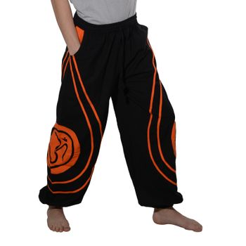 OM Unisex Psy Baggy Pants Hippie Hose Goa Cotton Dance Pants – Bild 6
