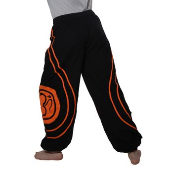 OM Unisex Psy Baggy Pants Hippie Hose Goa Cotton Dance Pants – Bild 9