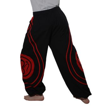 OM Unisex Psy Baggy Pants Hippie Hose Goa Cotton Dance Pants – Bild 8