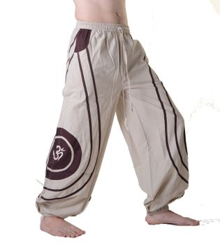 OM Unisex Psy Baggy Pants Hippie Hose Goa Cotton Dance Pants – Bild 24