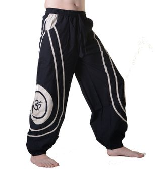 OM Unisex Psy Baggy Pants Hippie Hose Goa Cotton Dance Pants – Bild 19