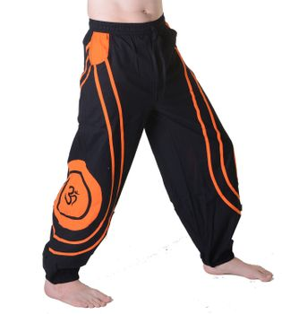 OM Unisex Psy Baggy Pants Hippie Hose Goa Cotton Dance Pants – Bild 11