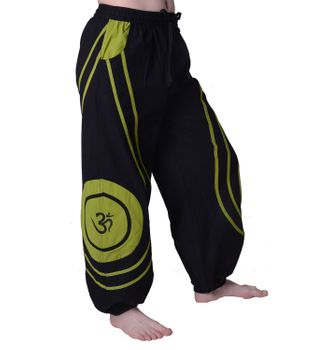 OM Unisex Psy Baggy Pants Hippie Hose Goa Cotton Dance Pants – Bild 13