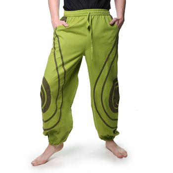 OM Unisex Psy Baggy Pants Hippie Hose Goa Cotton Dance Pants – Bild 23