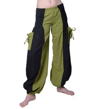 Psy Goa Freizeithose im alternativem Design - Damen-Hippiehose – Bild 1