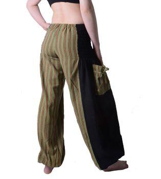 Hippie Goa Damenhose mit gestreiftem Muster - Freizeithose, Sommerhose – Bild 2