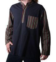 Mens Fisherman Shirt Baja Nepal 001