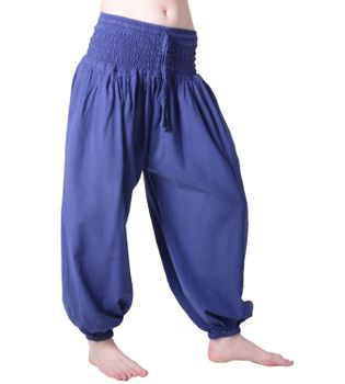 Hippie Goa Psy Women's Saroul Pants Cotton Pants Harem Pants Aladdin Pants – Bild 2