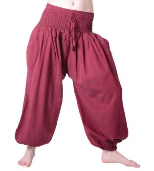 Hippie Goa Psy Women's Saroul Pants Cotton Pants Harem Pants Aladdin Pants – Bild 3