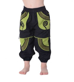 Kids Aladdin Pants Goa Hippie – Bild 1