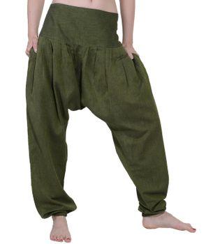 Modische Freizeithose Damenhose Hippie in ausgefallenem Design – Bild 6