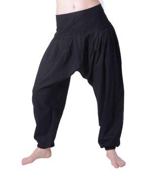 Modische Freizeithose Damenhose Hippie in ausgefallenem Design – Bild 4