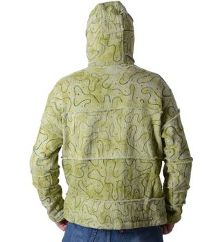 Patchwork Goa Men's Jacket with Elfin Hood – Bild 3