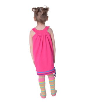 Summer Kids' Patchwork Dress Embroidered – Bild 7
