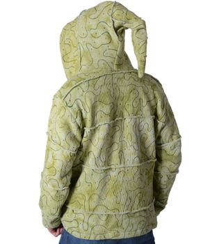 Patchwork Goa Mens Jacket with Elfin Hood – Bild 3
