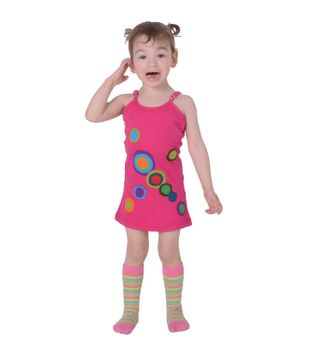 Beautiful Summer Kids Dress with Gorgeous Embroideries Hippie Goa – Bild 1