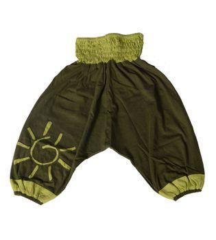 "Oriental Kids Harem Pants ""Sun"" Om Goa Hippie – Bild 5"