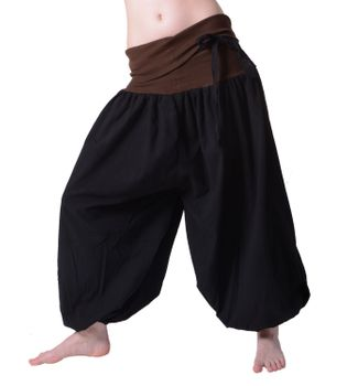 Beautiful Harem Pants with Ribbon Goa Psy Hippie Aladdin Pants – Bild 3