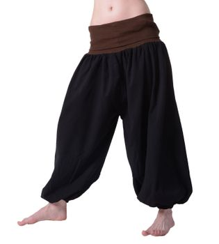 Beautiful Harem Pants with Ribbon Goa Psy Hippie Aladdin Pants – Bild 4