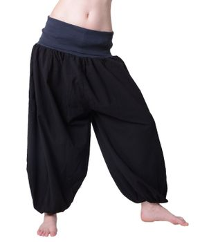 Beautiful Harem Pants with Ribbon Goa Psy Hippie Aladdin Pants – Bild 9