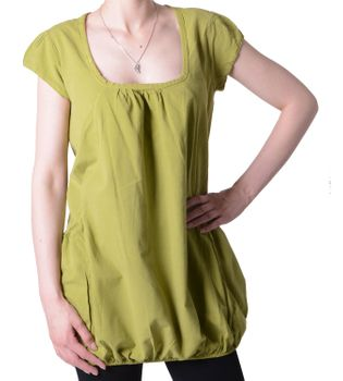 Hippie Summer Top Women's Blouse with 2 Pockets – Bild 4