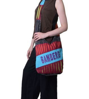 "Ethno Shoulder Bag ""Bamberg"" Hippie Baba Bag"